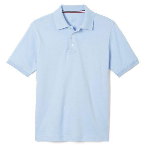 Áo thun polo màu xanh