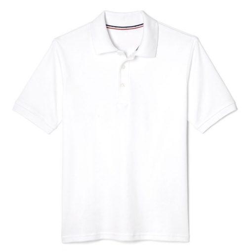 Áo thun polo màu trắng