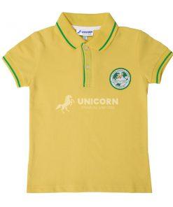 Áo đồng phục học sinh màu vàng