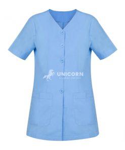 Đồng phục hộ lý nữ xanh chất lượng cao!
