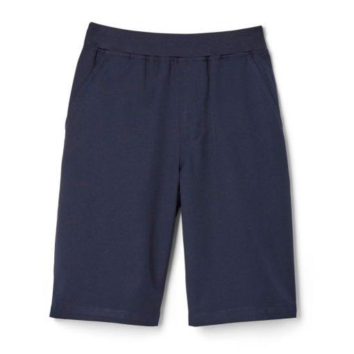 Quần short lưng thun xanh navy