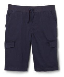 Quần short luồn dây hai túi hông xanh navy