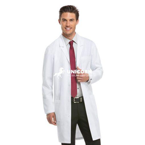 Mẫu áo bác sĩ nam Blouse trắng dài tay