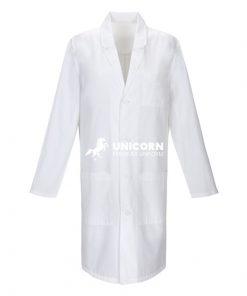 Áo đồng phục bác sĩ nam blouse trắng dài tay