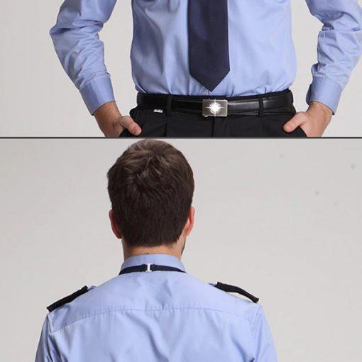 Đồng phục áo bảo vệ màu xanh lịch lãm