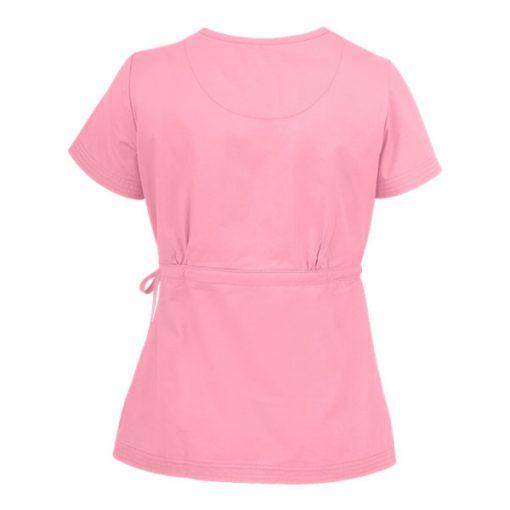 quần áo điều dưỡng nơ eo màu hồng