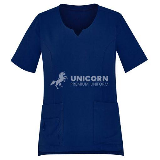 Mẫu quần áo điều dưỡng màu xanh navy