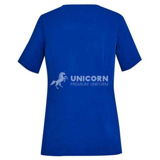 Quần áo điều dưỡng màu xanh blue