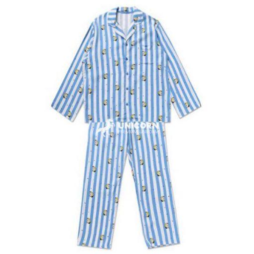 Quần áo Pyjama trẻ em màu xanh dương