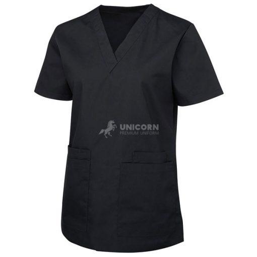 Bộ quần áo điều dưỡng màu đen