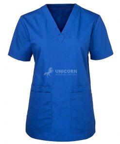 Bộ quần áo điều dưỡng màu xanh hoàng gia