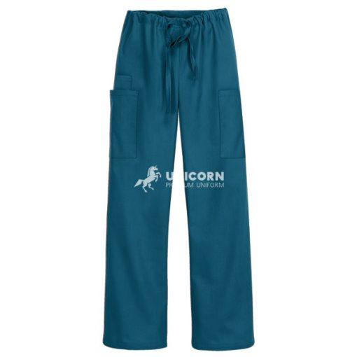 Quần bác sĩ phẫu thuật túi hông mau xanh ngọc