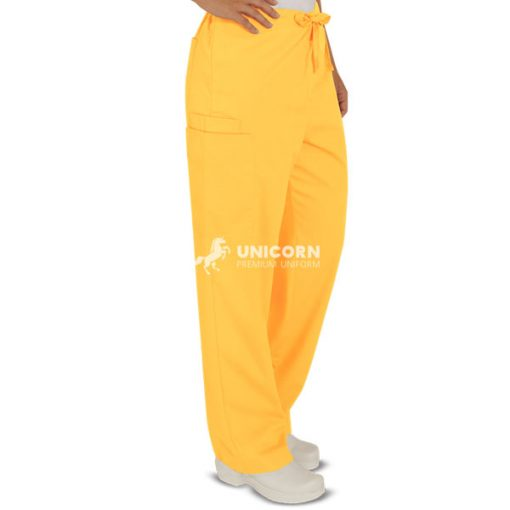 Quần bác sĩ phẫu thuật màu vàng