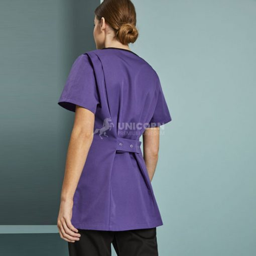 Trang phục điều dưỡng màu tím chất lượng cao